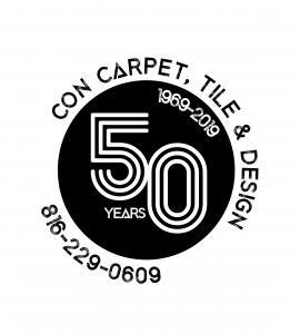 CON CARPET 50 YEAR LOGO black